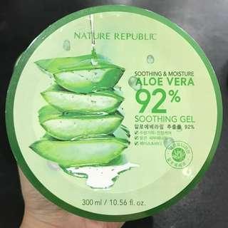 (BARU) Nature Republic Aloe Vera Gel 92%
