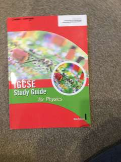 IGCSE Study Guide for Physics