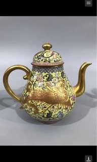 Fine work teapot !