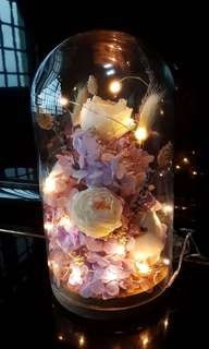 [Mothers' Day special] Preserved flowers glass dome