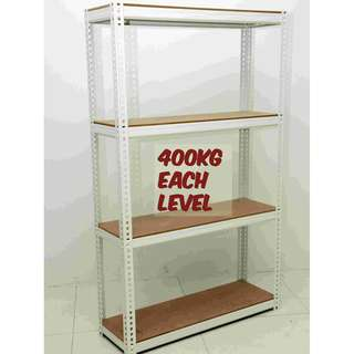 4 Tier Racking - 400kg/level