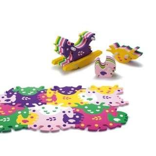 Tesellation Playmat - Animals Pattern