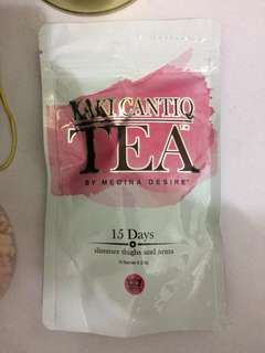 kaki chantiq tea