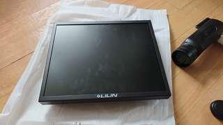 Lilin cctv monitor 100%new