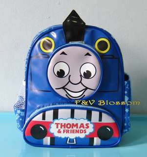 Tas Sekolah Anak Ransel Backpack PG PAUD Full Print 3 Kantong THOMAS