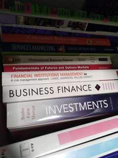 Finance books $10