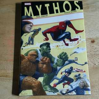 MARVEL MYTHOS Graphic novel HB
