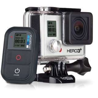 GoPro Hero 3plus with remote and remote pole