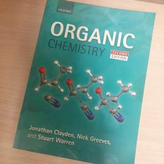 Organic chemistry clayden textbook