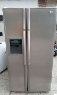 LG refrigerator said door