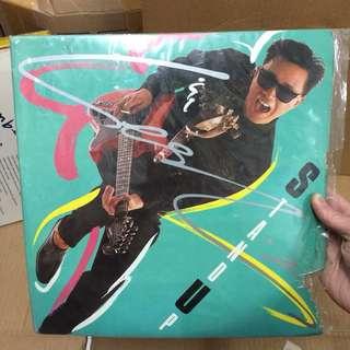 张国荣 Stand Up LP黑胶唱片95新 (绿色透明版)