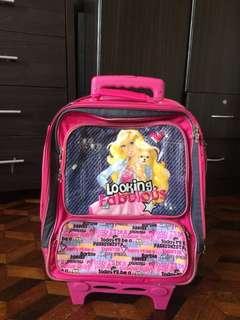 Stroller barbie bag for girls