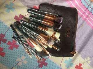 15 pcs Zoeva Brush Set