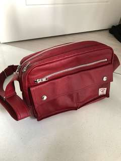 Porter International Red Sling Bag