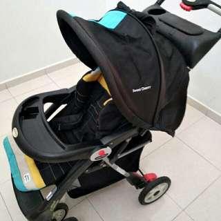 SWEET CHERRY Stroller (Pre-Loved)