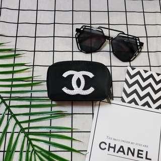 Chanel coinsbag 散紙包化妝袋口紅包 鎖匙包 小物袋 香水櫃贈品