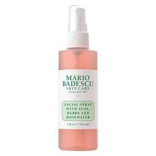 New Mario badescu facial spray