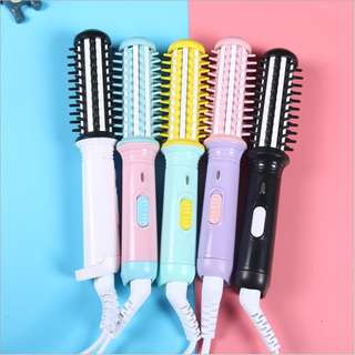 Professional Electronic Hair Straightener Curler 2 1 Irons