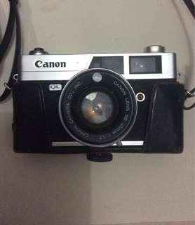 Kamera analog Canonet ql17
