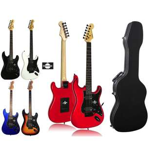 SQOE SEST210 SEST-210 Guitar WITH HARDCASE