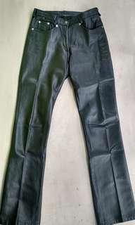 Celana Import Kulit Asli Pola Jeans Size 29