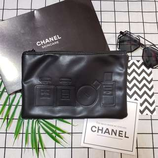 Chanel香水唇膏化妝袋 化妝包香水櫃贈品