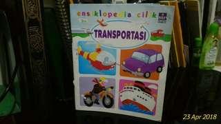 Buku anak ensiklopedia cilik transportasi