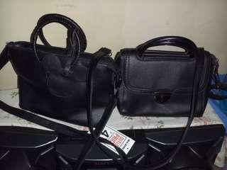 Secosana hand/sling bag and 2 sling bag
