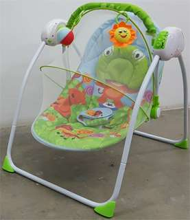 OFFER ❗❗❗BABY PORTABLE SWING WITH MOSQUITO NET & REMOTE