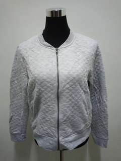 ROOFF Grey Sweater Jacket