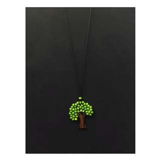 Green Tree Necklace