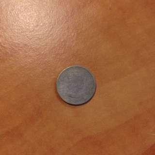 Malaya Borneo 5 cent (1953)