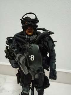 1/6 navy seal soldier