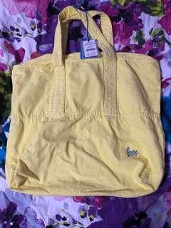 COTTON ON Yellow Denim Bag