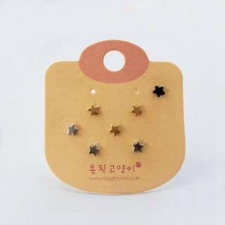 Korean cute earring set