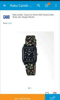 Jam tangan casio new