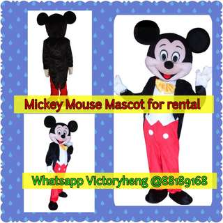 Mickey Mouse Mascot for rental