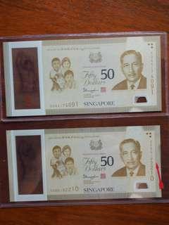SG50 error $50