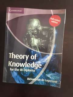 Theory of Knowledge Textbook