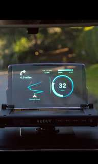 Futuristic Heads up Display (HUD) - Hudly Wireless