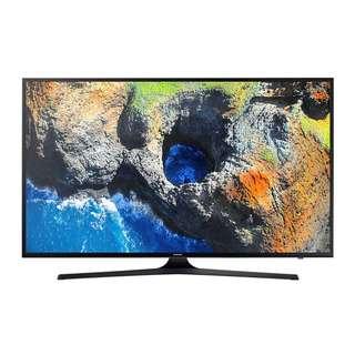 三星電視Samsung 40 Inch MU6300 4K UHD Smart TV with Free Wall-Mount