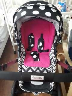Stroller (Good Baby-Happy Dino)