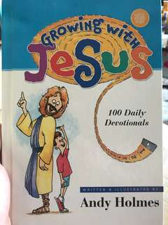 Growing with Jesus devotional book