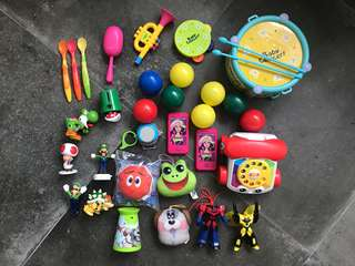 Baby musical drum set toys telephone mario ball pit balls