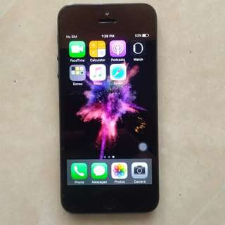 Iphone 5 32gb FU (negotiable price)