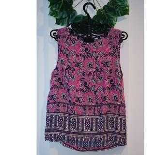 RIPCURL Batik Pink Tank Top