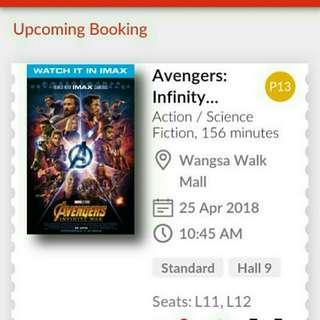 Avangers infinity war
