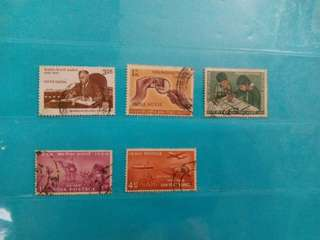 1954/83 India Stamps