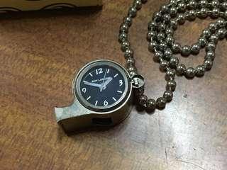 🚚 鐘錶哨子項鍊