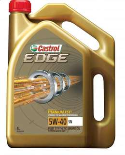 Castrol Edge 5W40 Fully Synthetic Engine Oil